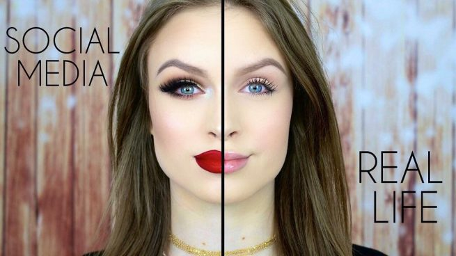 Maquillaje Instagram vs vida real