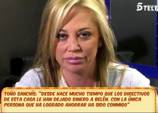 """Belén Esteban: """"No estoy arruinada, pero he perdido mis ahorros"""""""