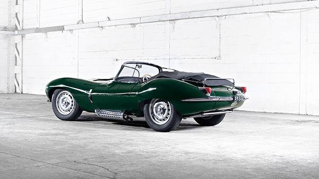 Jaguar XKSS: las joyas van sobre ruedas