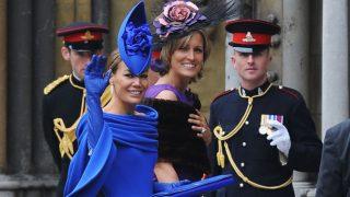 Tara Palmer-Tomkinson, en la boda de los duques de Cambridge (Gtres)
