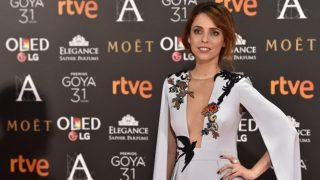 La actriz y directora Leticia Dolera, en la alfombra roja de los premios Goya (Gtres)