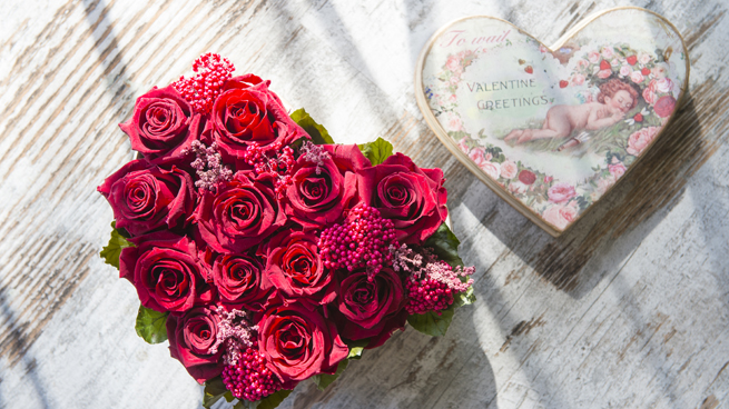 Flores regalo San Valentín