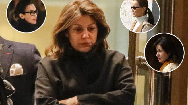 Isabel Preysler y otros rostros conocidos apoyan a Nuria González en el entierro de su sobrino