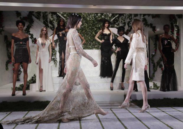 Kendall Jenner en el desfile de La Perla