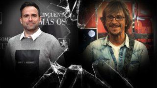Naím Thomas y Alejandro Abad en un fotomonataje