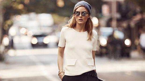 Olivia Palermo abandona el look clásico