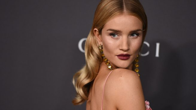 Rosie Huntington embarazada