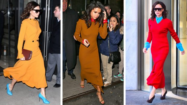 Selena Gomez con un look firmado por Victoria Beckham