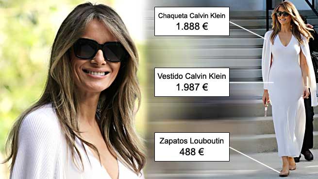Melania Trump Calvin Klein