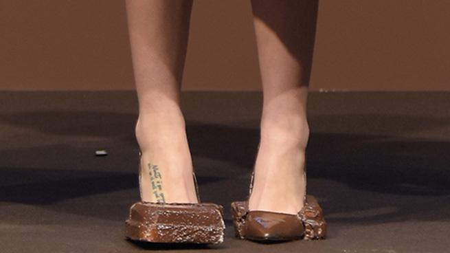 zapatos moda chocolate
