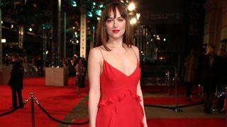 Dakota Johnson, pura pasión en rojo / GTresonline