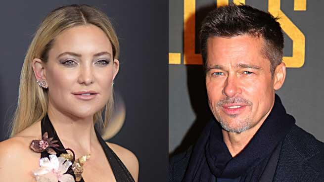 Kate Hudson Brad Pitt relación
