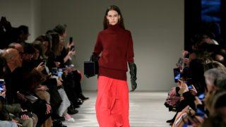 Desfile de Victoria Beckham durante la Semana de la Moda de Nueva York. / Gtres