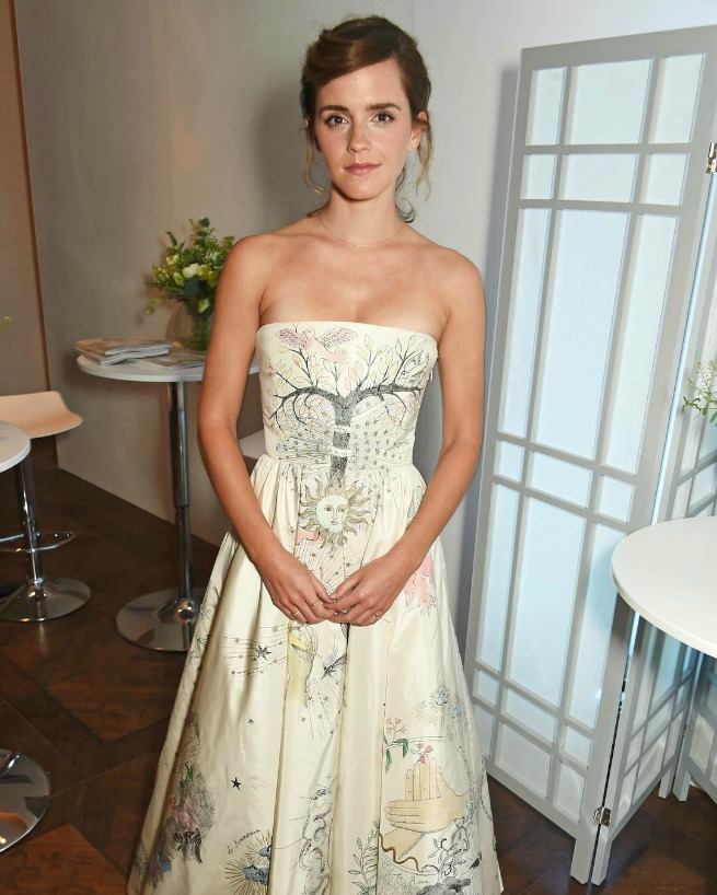 Emma Watson Dior Alta Costura Elle