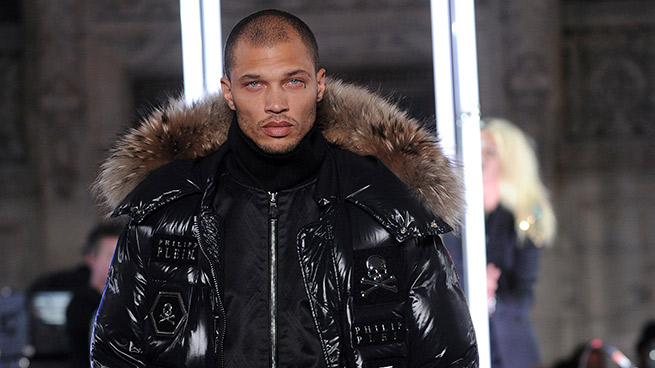 New York Fashion Week debut Jeremy Meeks