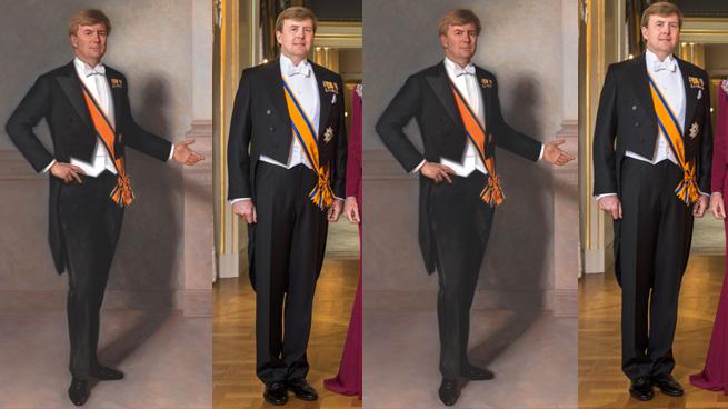 Polémica en Holanda por el retrato del Rey Guillermo