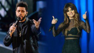 Los cantantes Selena Gomez y The Weeknd / Gtres