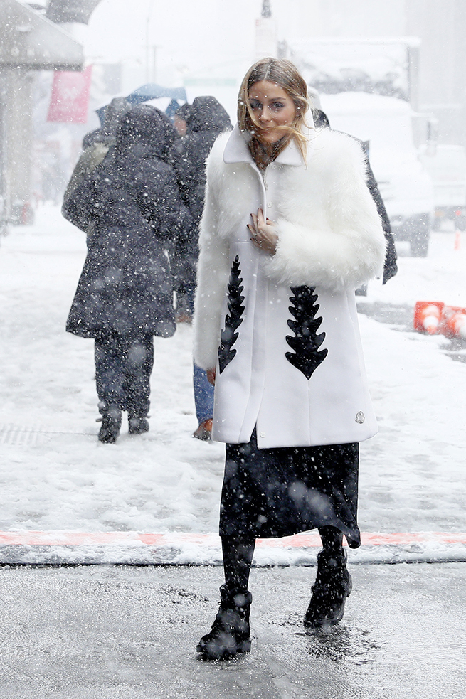 Olivia Palermo New York Fashion Week NYFW Abrigo