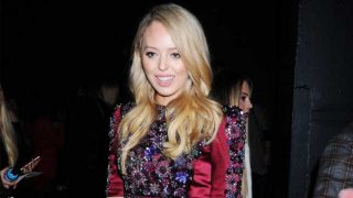 Tiffany Trump durante un desfile de la Fashion Week New York / Gtres