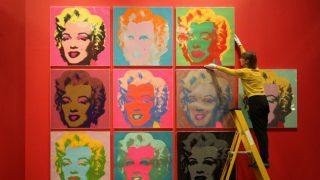 El Museo Británico expone diez serigrafías de Andy Warhol en 'American Dream'. / Gtres