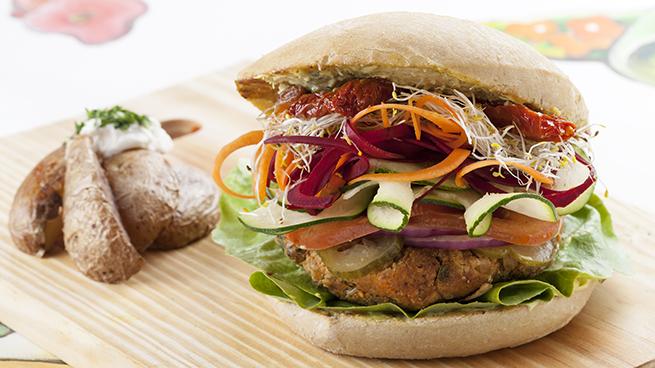 BurgerHuerta Viva Burger vegetarianos madrid