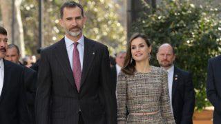 Los Reyes de España, en el museo Thyssen de Madrid (Gtres)