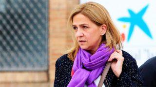 La infanta Cristina de Borbón saliendo de CaixaForum Barcelona / Gtres