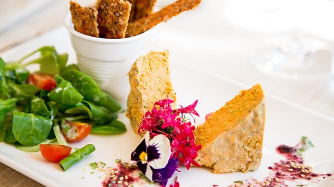Pate vegetal Level Veggie Bistro vegetarianos madrid