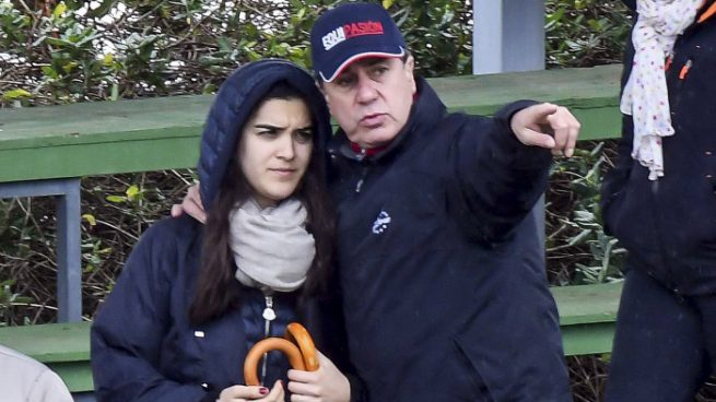 Cayetano Martínez de Irujo con Bárbara Mirján