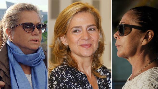Infanta Cristina, Isabel Pantoja y Maite Zaldívar, ¿iguales ante la ley?