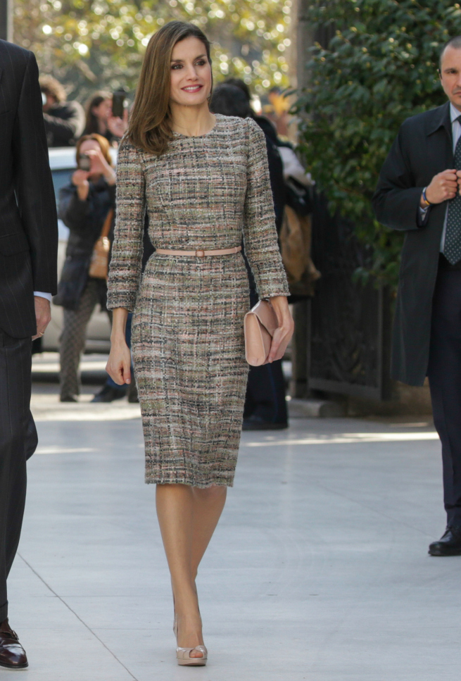 Reina Letizia Caso Noos Vestido