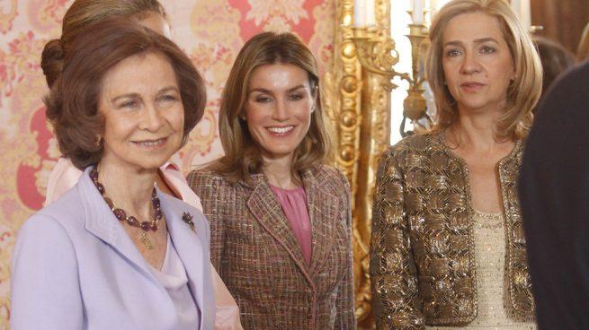 Reina Sofía, Reina Letizia e Infanta Cristina