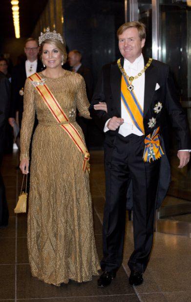 Reina Máxima y Rey Guillermo Alejandro de Holanda