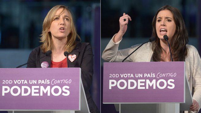 Tania Sánchez vs Irene Montero