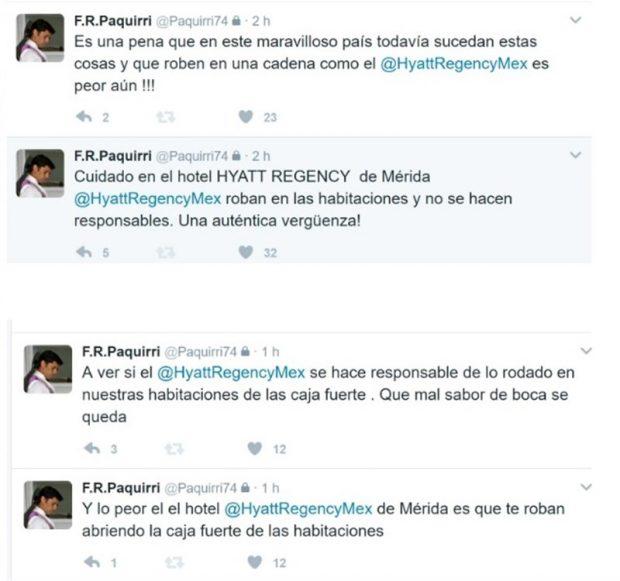 El gran enfado de Francisco Rivera en México: le roban dinero de la caja fuerte en un hotel