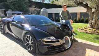 El Bugatti Veyron de Cristiano Ronaldo  / Instagram (@cristiano)