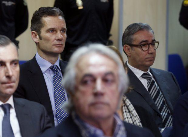 El reencuentro más tenso entre Iñaki Urdangarín y Diego Torres