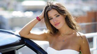 La modelo Malena Costa posa en Madrid / Gtres