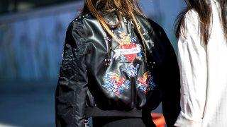 Street style en la Madrid Fashion Week. / Gtrres