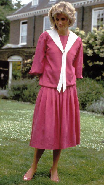 Diana de Gales estilo