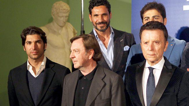 Cayenato Rivera, Óscar Higares , Curro Vázquez y Ortega Cano