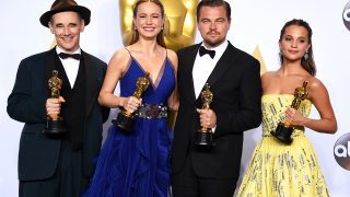 Algunos de los ganadores de los Oscar 2016 (Gtres)