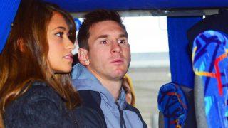 Leo Messi y Antonella Roccuzzo en imagen de archivo (Gtres)
