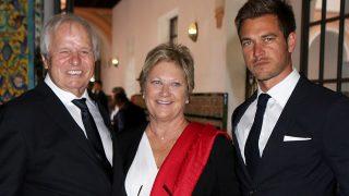 Manuel Benítez 'El Cordobés', Martina Fraysse y Julio Benítez, en una imagen de archivo (Gtres)