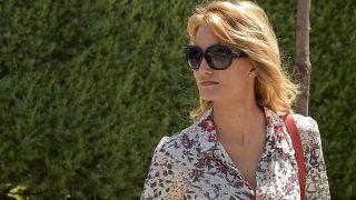 La modelo Alba Carrillo en Madrid / Gtres