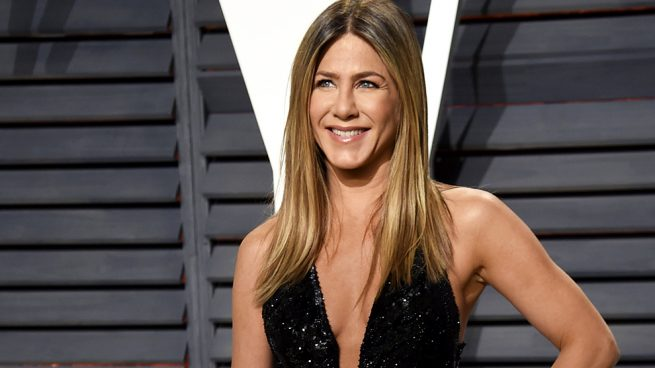 Jennifer Aniston fiesta Vanity Fair Oscars 2017