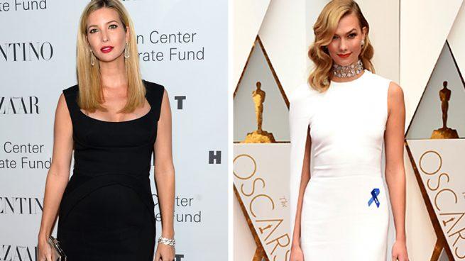 La provocación de Karlie Kloss a su cuñada Ivanka Trump en los Óscar 2017