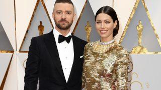 Jessica Biel y Justin Timberlake en los Oscar 2017