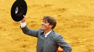 El torero Manuel Díaz 'El Cordobés', en Cantillana (Gtres)