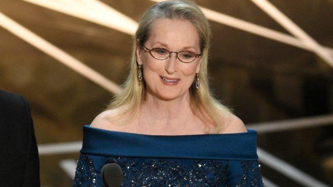 Meryl Streep Oscar 2017 Karl Lagerfeld